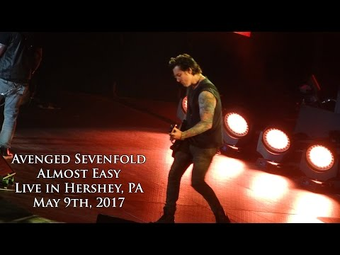 Avenged Sevenfold  Almost Easy  in Hershey 5917