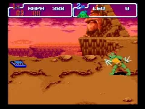 TMNT IV: Turtles in Time (SNES) - 19:25 obsoleted world record