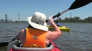 Kayaking Hackensack River - The Meadowlands