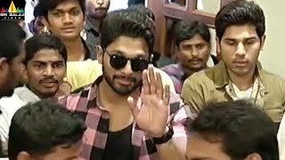 Allu arjun birthday 2017 celebrations at fncc | latest telugu movie updates | sri balaji video