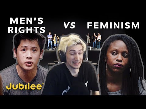 XQc Reacts To Men's Rights Vs Feminism: Is Toxic Masculinity Real?