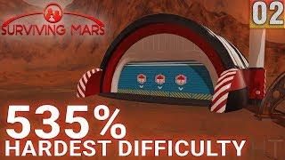 Surviving Mars 535% HARDEST DIFFICULTY - Part 02 - Yeah, It