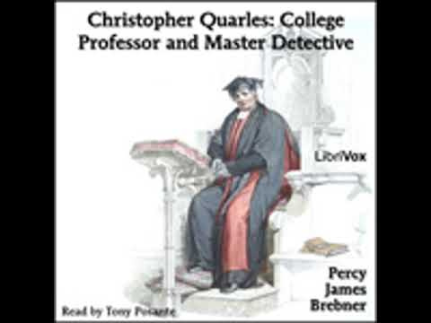 CHRISTOPHER QUARLES COLLEGE PROFESSOR AND MASTER DETECTIVE b