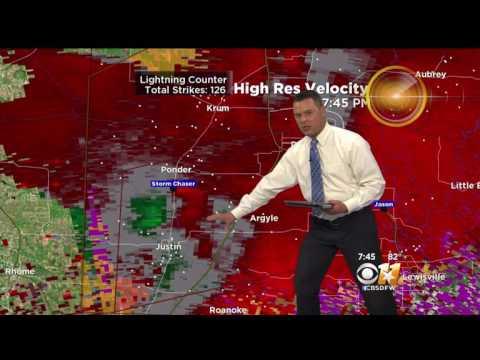 CBS Dallas weather Coverage March 26 2017