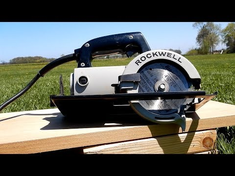 Rockwell No 314 Type 1 Trim Saw From 1979 Youtube