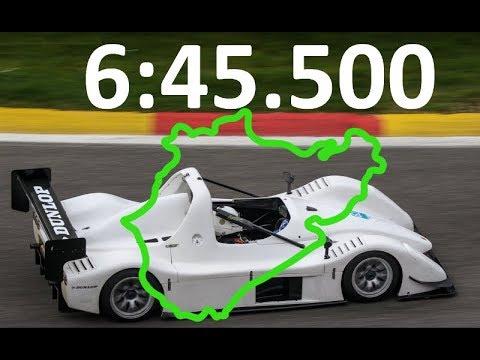 Nurburgring Nordschleife Radical SR8 lap record 6:45.500