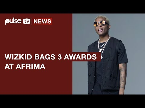Wizkid Wins 3 AFRIMA 2017 Awards as Starboy Conquers Africa  Pulse TV News