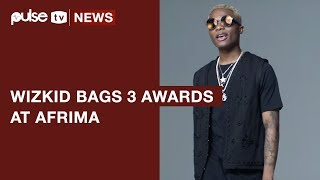Wizkid Wins 3 AFRIMA 2017 Awards as Starboy Conquers Africa | Pulse TV News