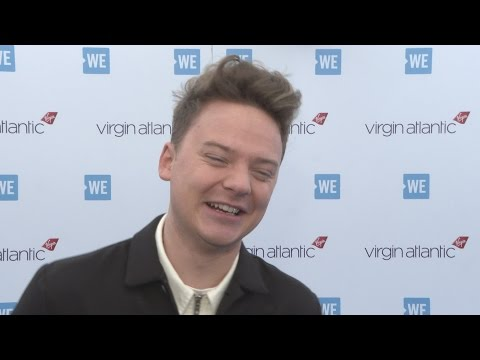 WE Day: Conor Maynard is 'on the market'