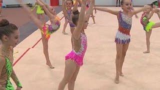 В Курске прошли соревнования по художественной гимнастике