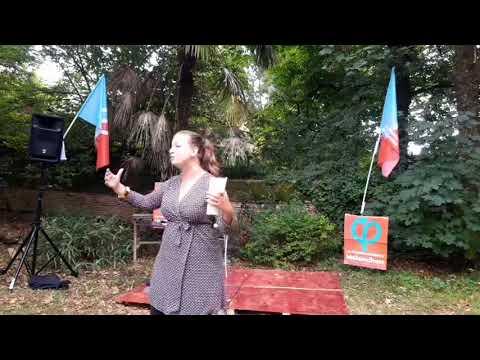 Conférence de Mathilde Panot sur l'écologie populaire
