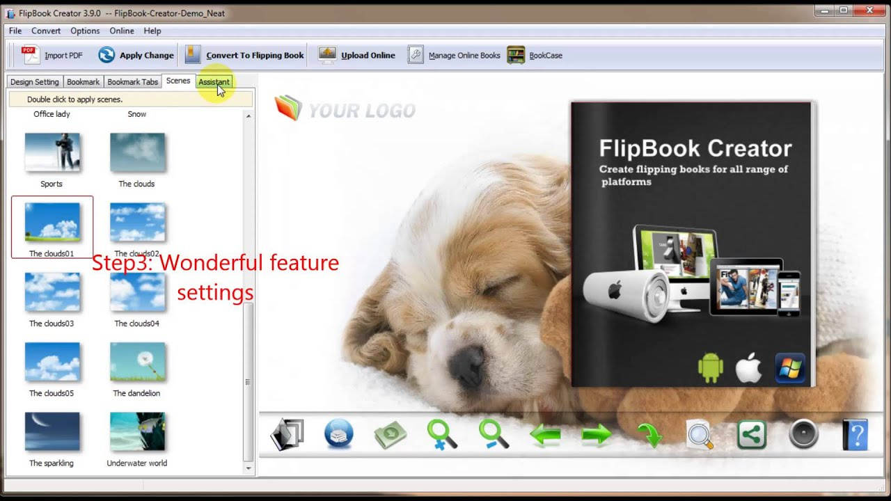 Flash Book Creator