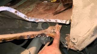видео Ваз 2110. И снова ремонт стакана.  Кузовной ремонт.