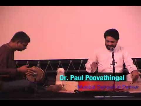 Musical Concert - Dr. Paul Poovathingal