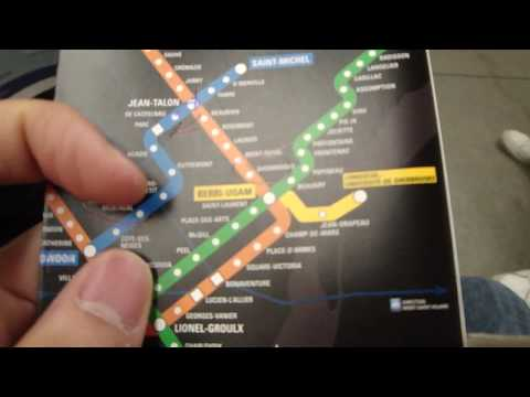 metro montreal public transportation subway getting lost