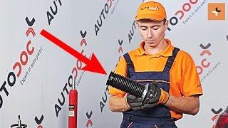 Oglejte si kako rešiti težavo z zadaj in spredaj Nosilec amortizerja VW: video vodič
