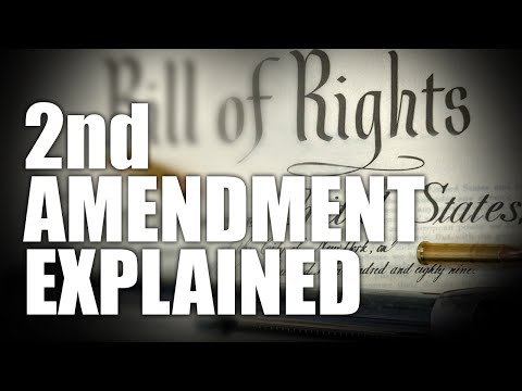 history of the second amendment Whether repeal of the second amendment is feasible or not, historical  revisionism is meant to mangle its meaning into irrelevancy stevens.