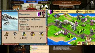 Age of Empires: The Age of Kings (DS) Gameplay (Hard AI)