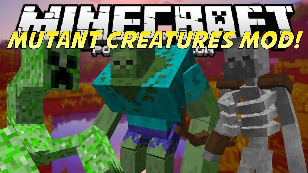 Mutant Creatures Mod 1.7.2, 1.6.4, 1.5.2 | Mine...