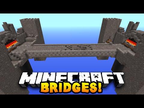 """Minecraft 1v1v1v1  BRIDGES! #1 """"OLD SCHOOL PVP!"""" w/PrestonPlayz & The Pack!"""
