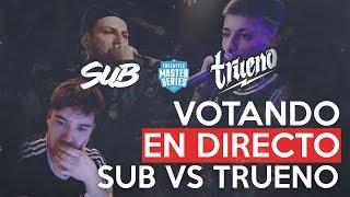 ¿TONGO? ¿ACIERTO? ¿MVP? VOTANDO EN DIRECTO TRUENO VS SUB - FMS ARGENTINA J01