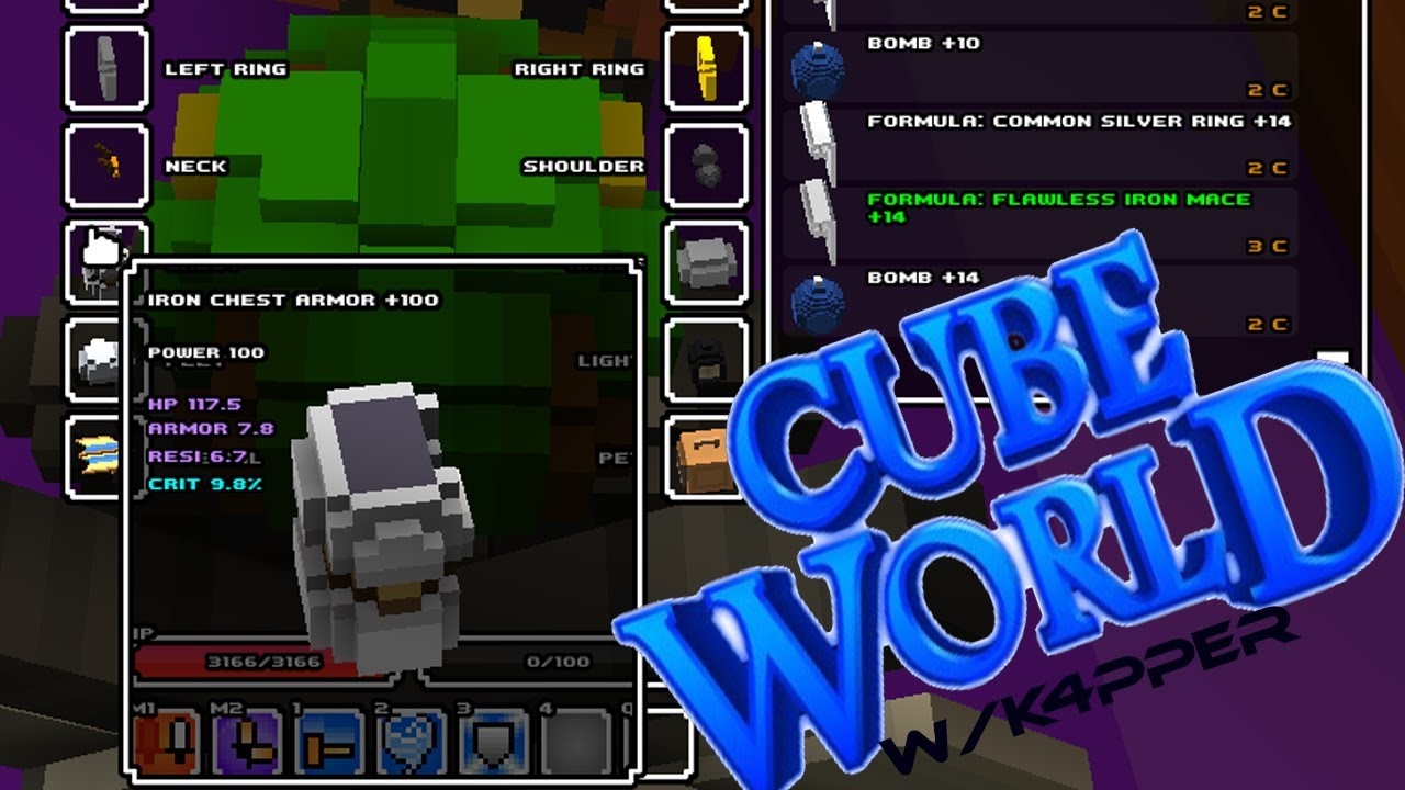 Cube world guide any armor hack hd youtube cube world guide any armor hack hd gumiabroncs Choice Image