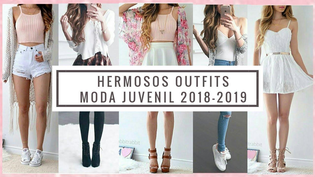 atractivo y duradero comprar 2019 profesional hermosa ropa de mujer juvenil / outfits juvenil 2018 2019 / moda sexy