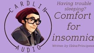 ASMR Voice: Having trouble sleeping? [M4A] [Comfort for insomnia] [Romantic] [Boyfriend]