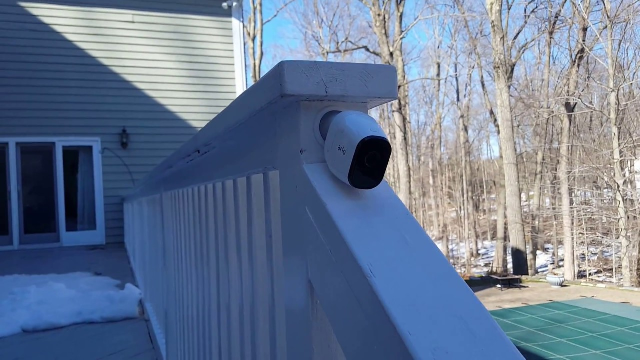 Demo Of Installing The Arlo Pro 2 Camera Security System