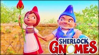 Шерлок Гномс Мультфильм Гномео и Джульетта Sherlock Gnomes Video for kids