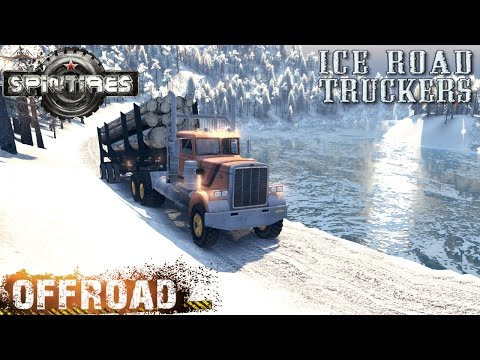 SpinTires Ice Road Trucker Off-road Test