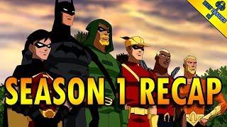 Young Justice Season 1 Recap