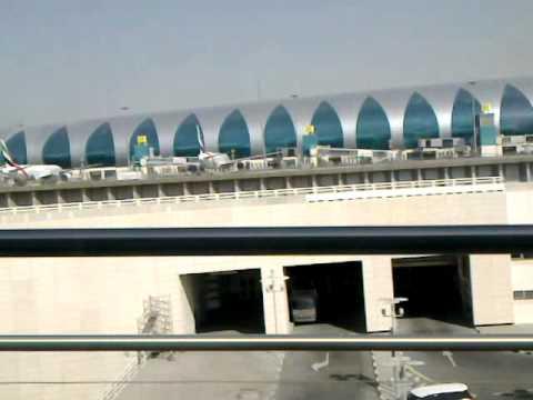 Airport T3 Scene from Metro Service Dubai