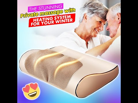 Heated Therapy Pillow Massager