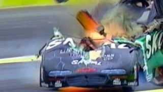 Жесткие и страшные аварии NASCAR, Формула 1, Ралли и др Crash Carnage выпуск 1