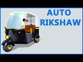 Auto Rickshaw Video | Tuk Tuk | Cartoon Animation | Kids Rhymes & Poems