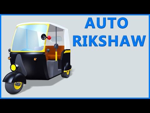 Auto Rickshaw Video | Tuk Tuk | Cartoon Animation | Kids Rhymes & Poems