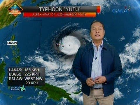 Bagyong nasa super typhoon category ngayon, inaasahang papasok sa PAR sa Sabado