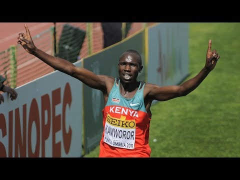 Young Geoffrey Kamworor's First Win At Junior Men's Race WXC 2011 [FULL HD]