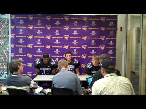 Postgame Interview with James Ruffin, Billy Hallgr...