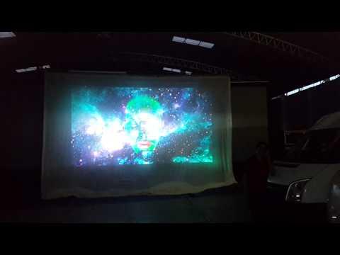 Pantalla Shark Tooth y pantalla de back projection @ Bodega PFN