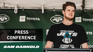 Sam Darnold Preseason Press Conference (8/21) | New York Jets | NFL