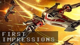 Star Wars the Old Republic: Galactic Starfighter Gameplay   First Impressions HD