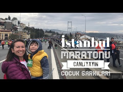 Boğaz Üstünde Canlı Yayın - İstanbul Maratonu - Vlog Kasım