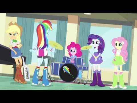 MLP Equestria Girls Rainbow Rocks SNEAK PEEK #3 Sub Español