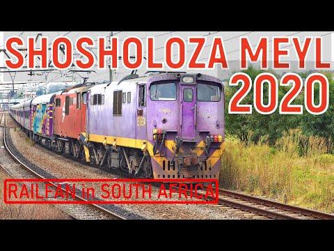 SHOSHOLOZA MEYL Tourist Class Train Between Cape Town And Johannesburg (2019-2020)
