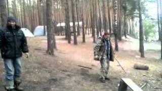 бейсбол в лесу
