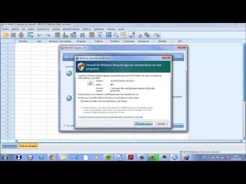 Tutorial1: descargar metadatos de CIS y abrir matriz en Spss
