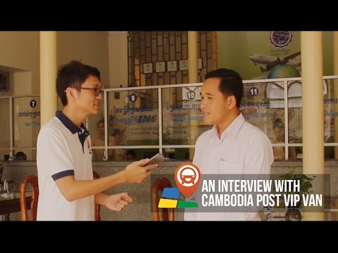 An Interview with Cambodia Post VIP Van about Khmer New Year Promotion