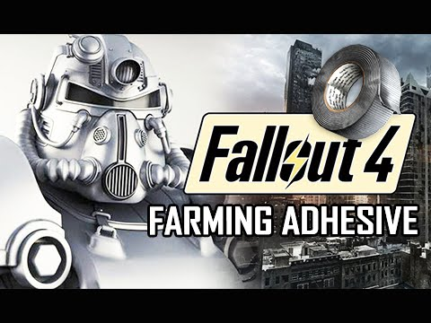 how to make adhesive fallout 4
